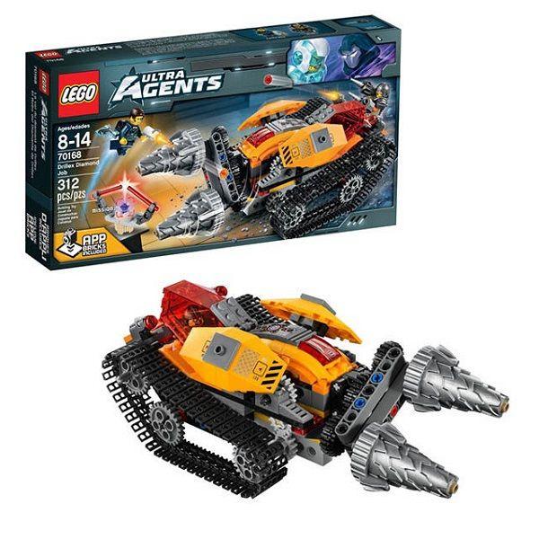 Lego Ultra Agents 70168 Добыча  алмазов