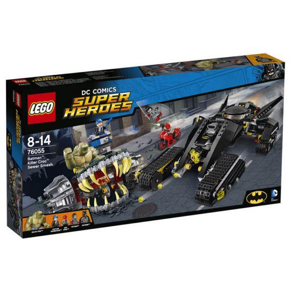 Lego Super Heroes 76055 Бэтмен™: Убийца Крок™