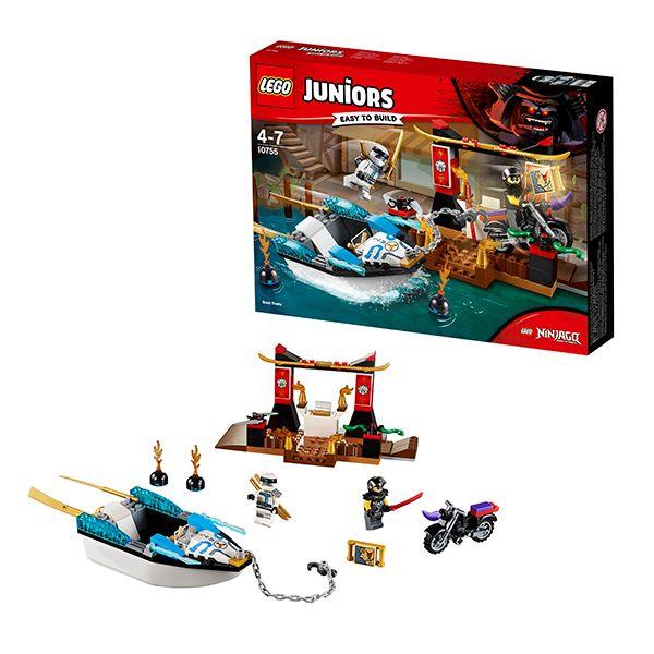 Lego Juniors 10755 Погоня на моторной лодке Зейна
