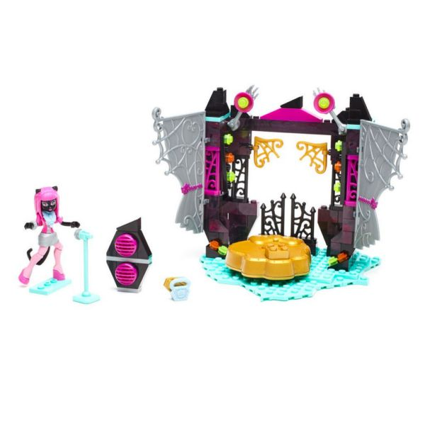 Конструктор Monster High Звездная сцена Mega Bloks