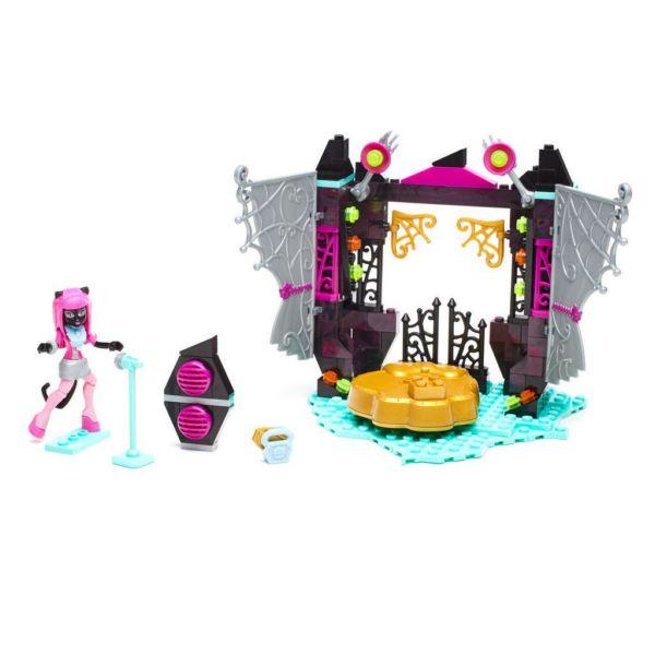 Конструктор Monster High Звездная сцена Mega Bloks