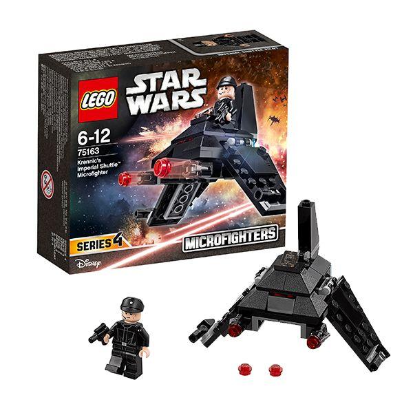 Lego Star Wars 75163 Звездные войны Микроистребитель Имперский шаттл Кренника