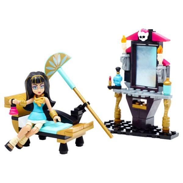 Конструктор Monster High Туалетный столик Mega Bloks