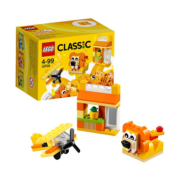 Lego Classic 10709 Оранжевый набор для творчества