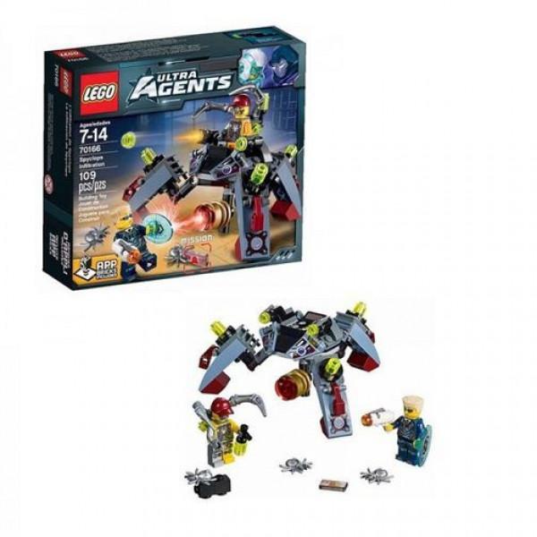 Lego Ultra Agents 70166 Внедрение  шпионов