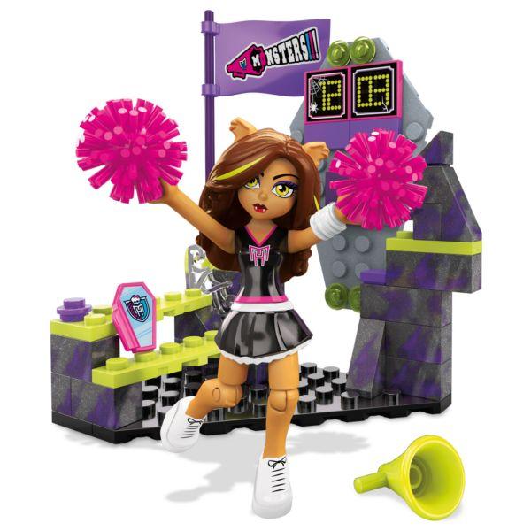 Конструктор Mega Bloks Группа поддержки Monster High