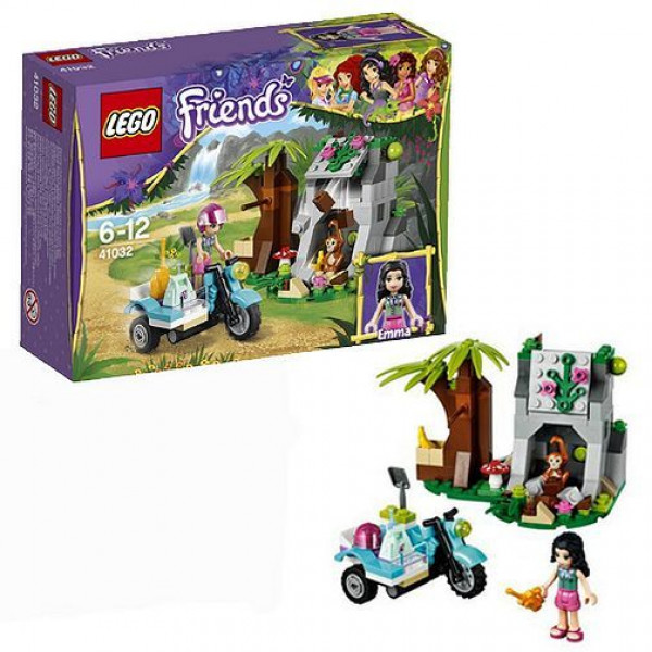 Lego Friends 41032 Джунгли мотоцикл скорой помощи