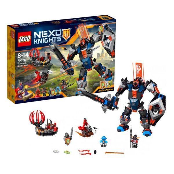 Lego Nexo Knights 70326 черный рыцарь бот