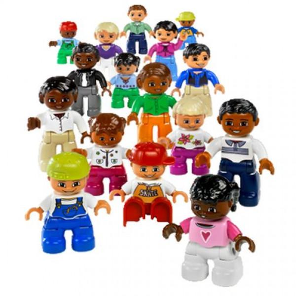 Lego Education Preschool 9222 Люди мира