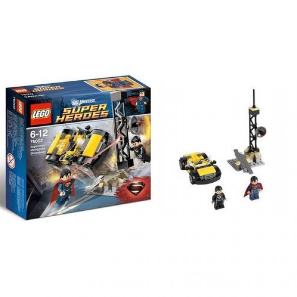 Lego Super Heroes 76002 Супермен: Решающий поединок в Метрополисе