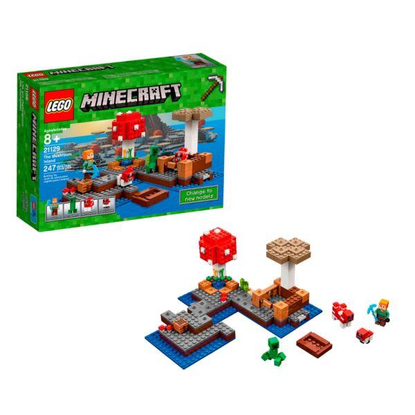 Lego Minecraft 21129 Грибной остров