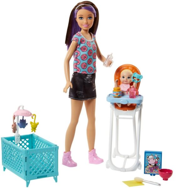 Игровой набор Skipper Няня Barbie FHY98