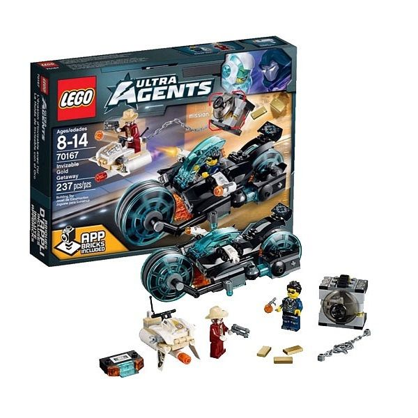 Lego Ultra Agents 70167 Похищение золота