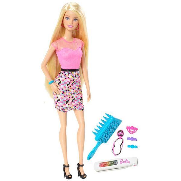 Игровой набор Peinados Multicolor блондинка Barbie