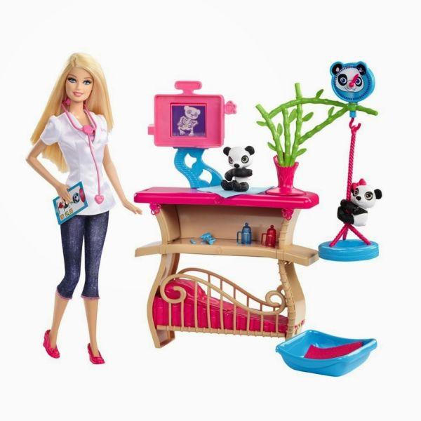 Игровой набор Барби ухаживает за Пандами Barbie