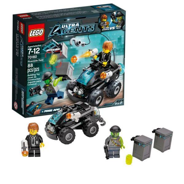 Lego Ultra Agents 70160 Нападение с Берега