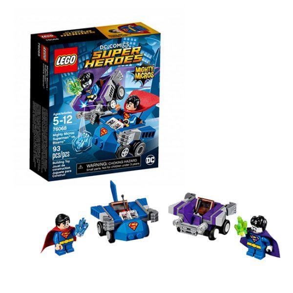 Lego Super Heroes 76068 Супермен против Бизарро