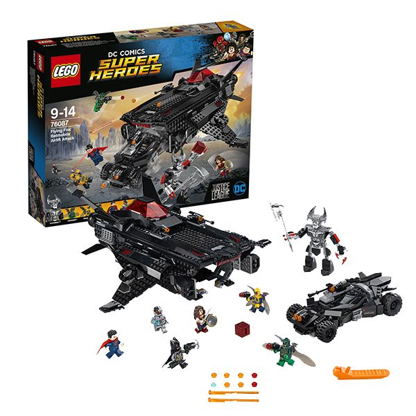 Lego Super Heroes 76087 нападение с воздуха