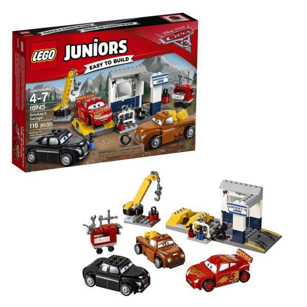 Lego Juniors 10743 Гараж Смоуки