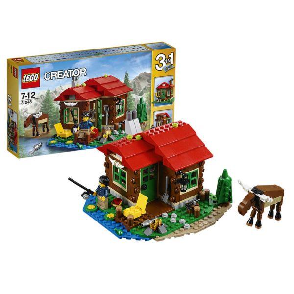 Lego Creator 31048 Домик на берегу озера
