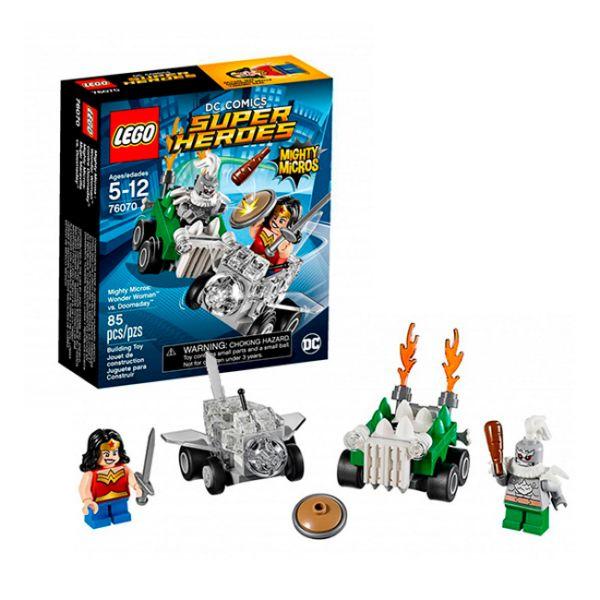 Lego Super Heroes 76070 Чудо-женщина против Думсдэя