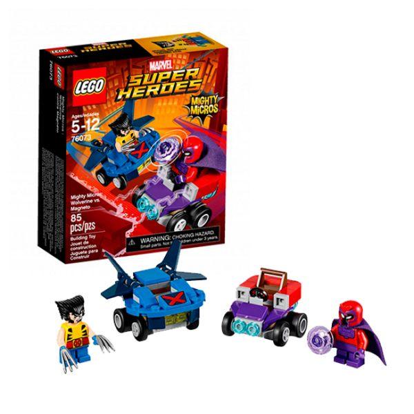 Lego Super Heroes 76073 Росомаха против Магнето