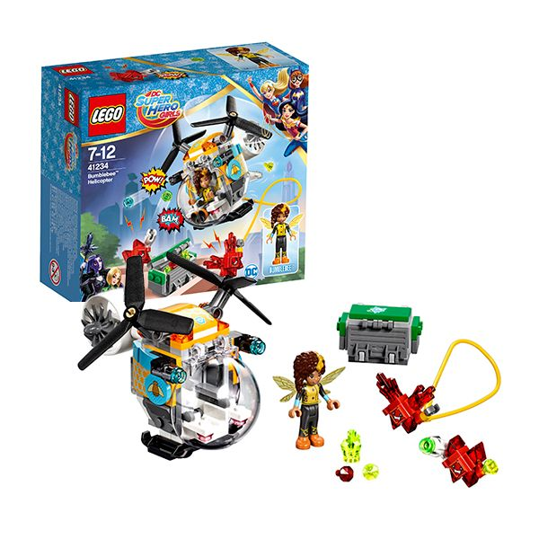 Lego Super Hero Girls 41234 Вертолёт Бамблби