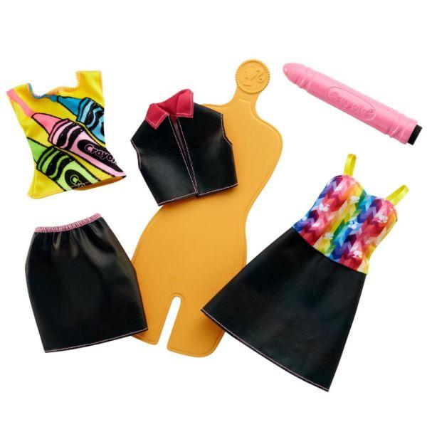 Игровой набор Crayola-86 Радужный дизайн Barbie