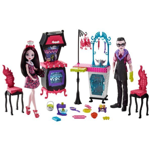 Игровой набор Семья Дракулауры из серии Семья Монстриков Monster High