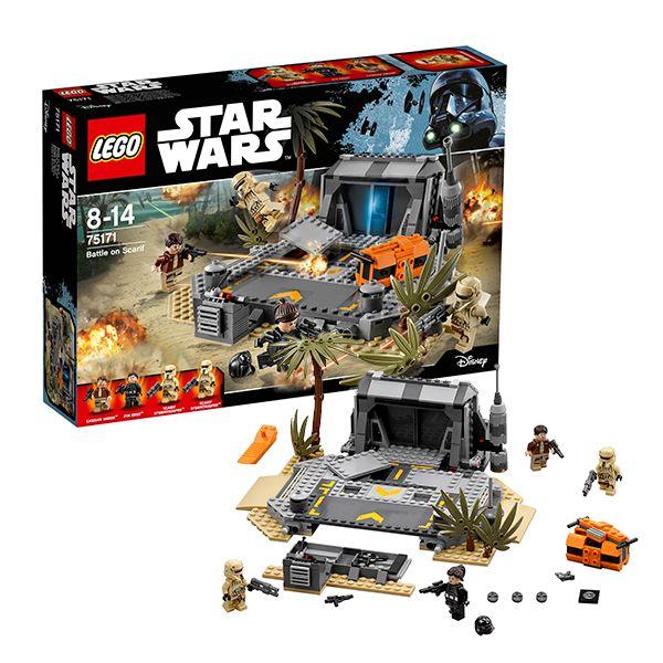 Lego Star Wars 75171 Звездные войны Битва на Скарифе
