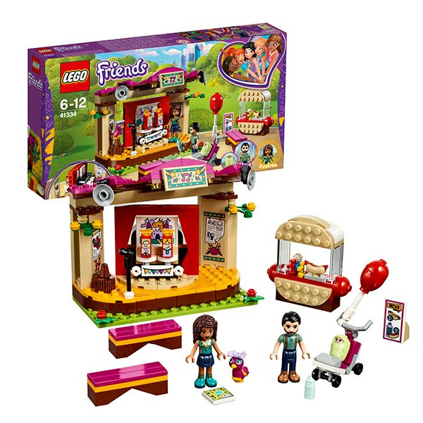 Lego Friends 41334 Сцена Андреа в парке