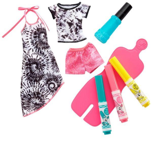 Игровой набор Crayola Cделай моду сам Barbie