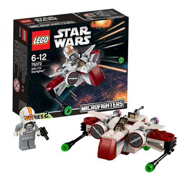Lego Star Wars 75072 Звездный истребитель ARC-170