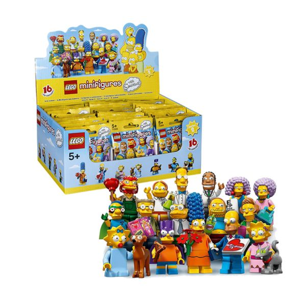 Lego Minifigures 71009 Simpsons серия 16