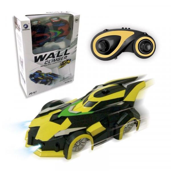 Машина антигравитационная на радиоуправлении MX - 08 WALL CLIMBER жёлтая