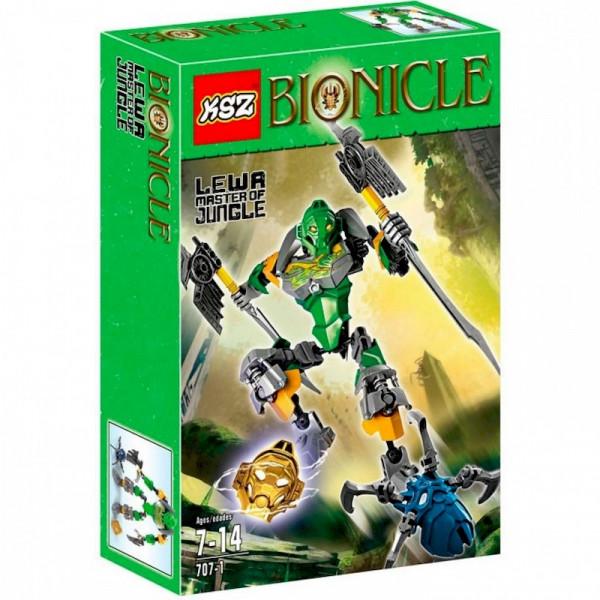 Конструктор KSZ 707-1 Bionicle Lewa — Повелитель джунглей