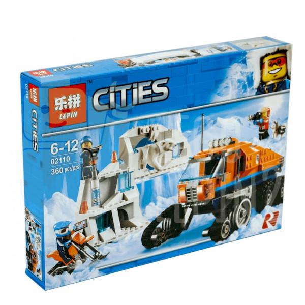 Конструктор Lepin Cities 02110 Грузовик ледовой разведки