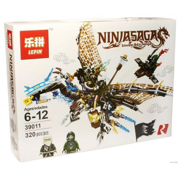 Конструктор Lepin New Ninjiasaga Blocks 39011 Ледяной Дракон