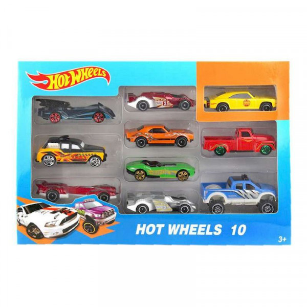 "Трек Hot Wheels ""Набор из 10 машинок"""