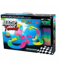 Светящаяся трасса Magic Tracks 236 с двумя петлями