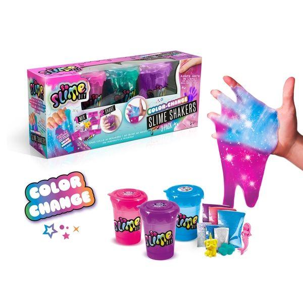 SLIME DIY, Slime Shakers, Cosmic, 3 шт - Сделай свой слайм и растряси его