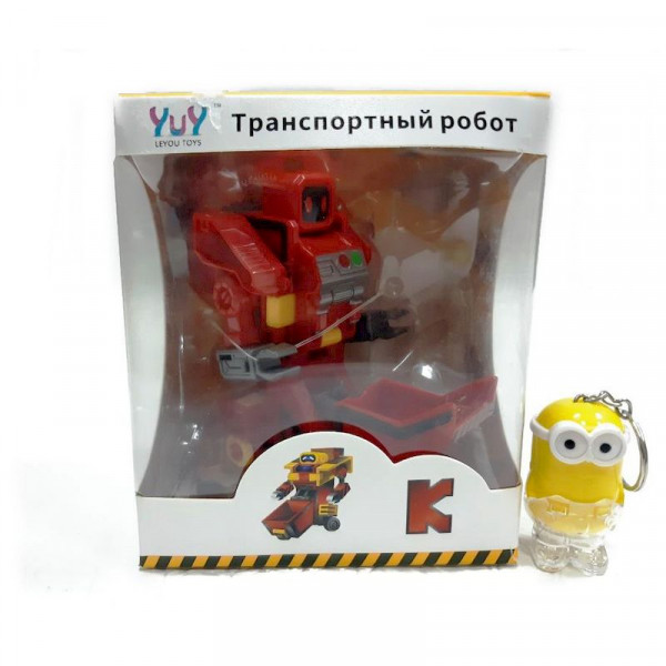 """Дорожный каток Буква """"К""""-трасформер транспортный робот"""