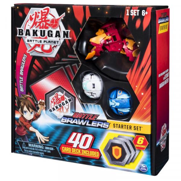 Стартовый набор из 3-х Бакуганов «Bakugan Battle Browlers Start Set №1»