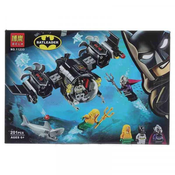 Конструктор BELA Batleader 11233 Подводный бой Бэтмена