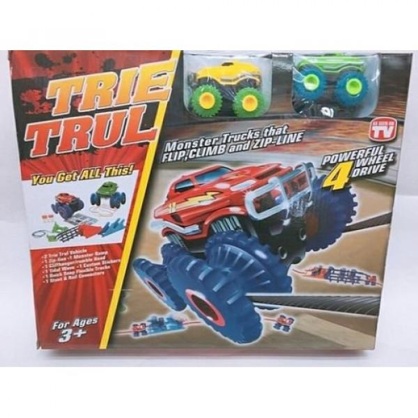 Большой Набор Trie Trul - 2 машинки Сlassic Plus