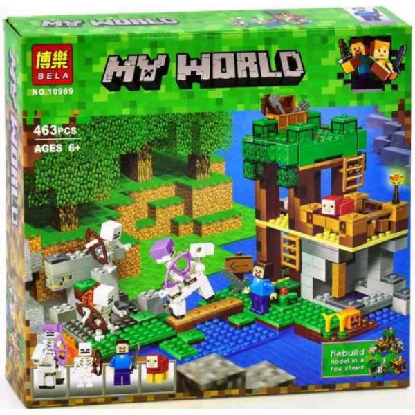 Конструктор BELA My World 10989 Нападение армии скелетов