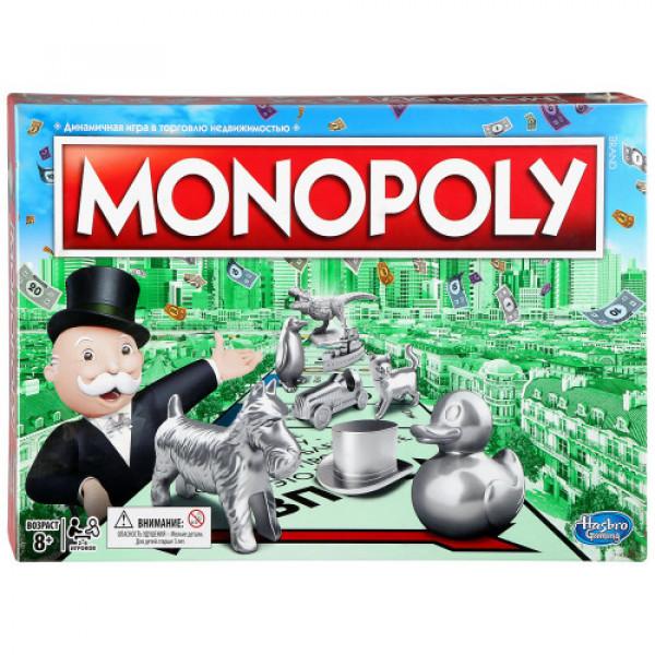 Настольная игра Hasbro Games Монополия классическая обновленная