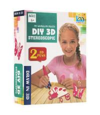 3D ручка Diy 3D Stereoscopic 2 ручки
