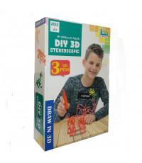 3D ручка Diy 3D Stereoscopic 3 ручки