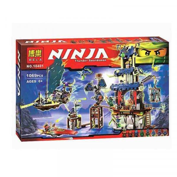 Конструктор BELA Ninja 10401 Призрачный город Стикс